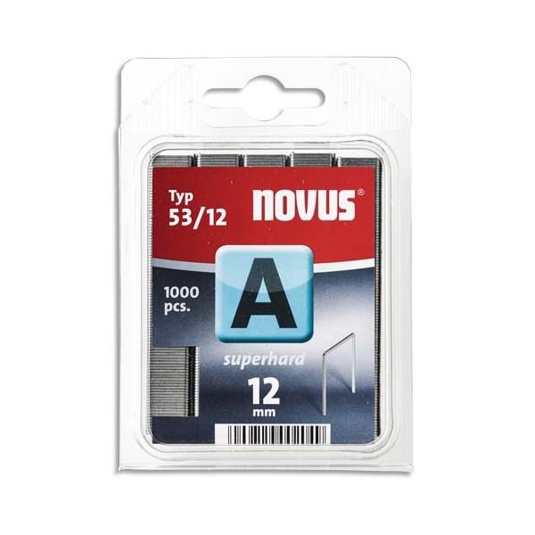 NOVUS Blister de 2000 agrafes 53/12