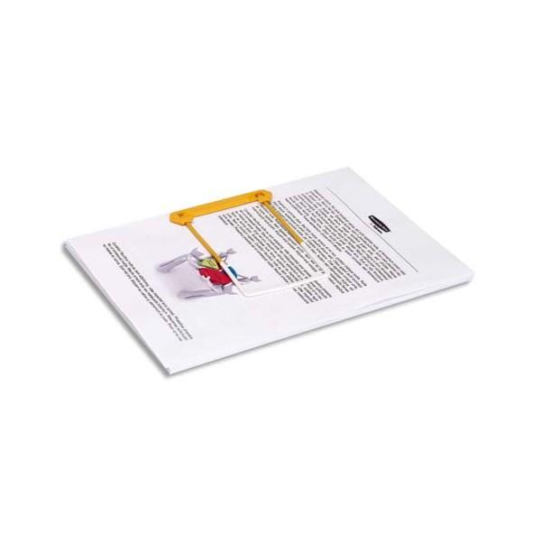 BANKERS BOX Boîte de 100 clip tube jaune 3 pièces pour archiver et consulter les documents