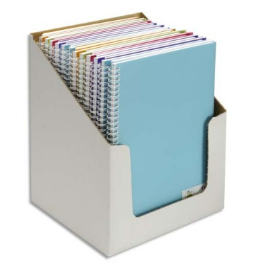 CANSON Carnet de notes 100 pages 120g A4 5 couleurs. Couverture en polypropylène assorties