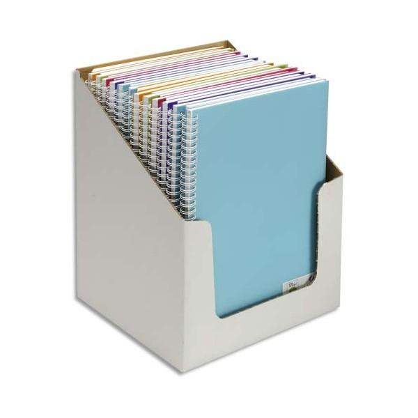 CANSON Carnet de notes 100 pages 120g A4 5 couleurs. Couverture en polypropylène assortie