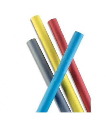 CLAIREFONTAINE Rouleau Papier Kraft coloris rouge recto-verso 65g - Dimensions : 0.70 x 3 mètres