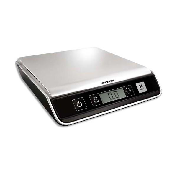 DYMO Pèse-paquets Mailing USB numérique ou piles capacité 10 Kg - L41,5 x H4,85 x P40 cm