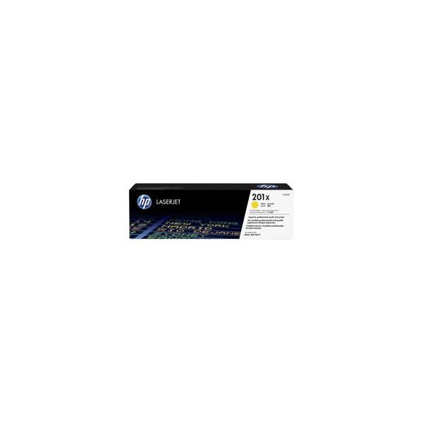 HP Cartouche toner laser jaune 201X - CF401X