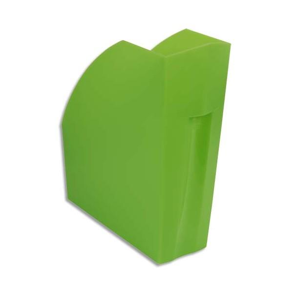 EXACOMPTA Porte-revues Iderama. Coloris vert transparent - 29,2 x 32 x 11 cm