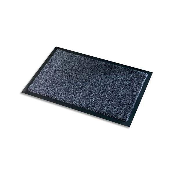 PAPERFLOW Tapis d'accueil intérieur Premium, en polyamide. Coloris gris. 60 x 90 cm, épaisseur 10 mm (photo)
