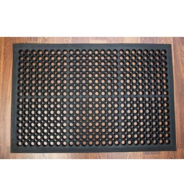 FLOORTEX Tapis anti-fatigue en caoutchouc. Dimensions 60 x 90 cm