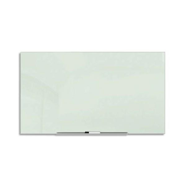 NOBO Tableau en verre sans cadre avec auget porte-marqueur 45