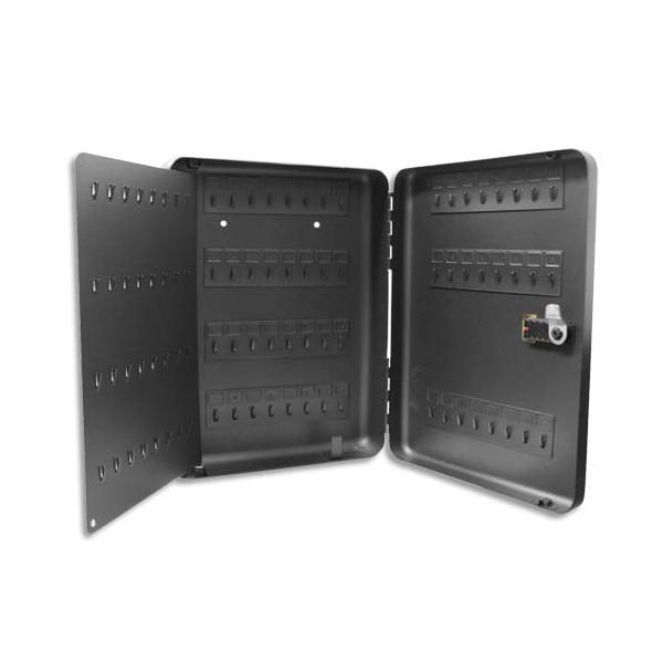 RESKAL Armoire à clés serrure à combinaison, 120 clés gris anthracite (photo)