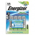 ENERGIZER Blister de 4 piles AA LR6 Eco Advanced