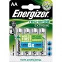 ENERGIZER Blister de 4 piles AA LR6 Extrem rechargeable 2300 mAh
