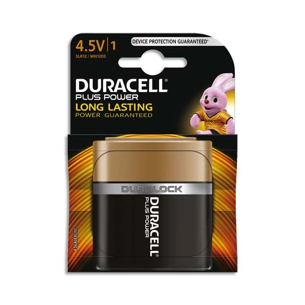 DURACELL Blister de 1 Pile Alcaline 4,5V 3LR12 Plus Power (photo)