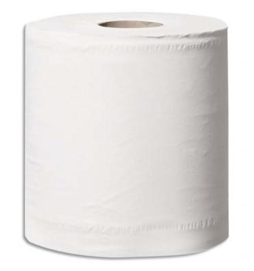 HYGIENE Paquet 6 bobines de papier d'essuyage blanc 2 plis 108 m 450 Formats prédécoupés 24 x 19 cm