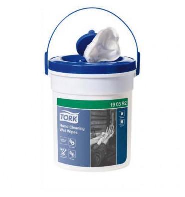 TORK Boîte de 58 Lingettes imprégnées d'une solution antiseptique et désinfectante