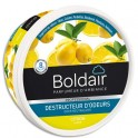 BOLDAIR Gel solide de 300 gr, destructeurs d'odeurs parfum citron