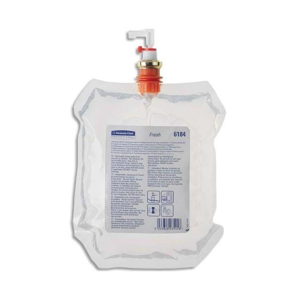 KIMBERLY Pack de 5 Recharges de 310 ml Multi-senteurs 5 parfums pour diffuseur Aquarius