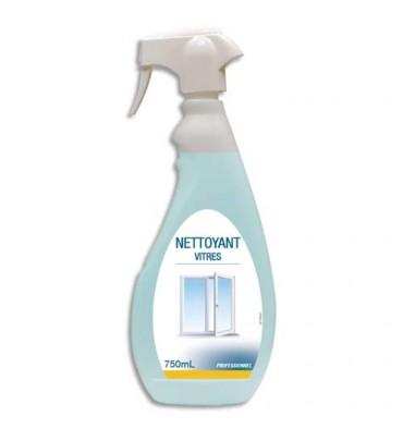 HYGIENE Spray Nettoyant pour les vitres et surfaces modernes, dégraisse et nettoie, 750 ml