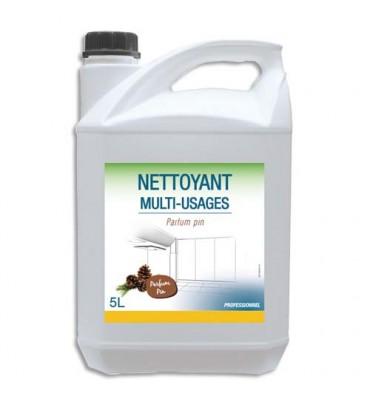 HYGIENE Bidon de 5 Litres Détergent Désodorisant pour sols et surfaces dures parfum Pin