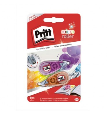 PRITT Lot de 2 mini rollers de correction Micro Roller