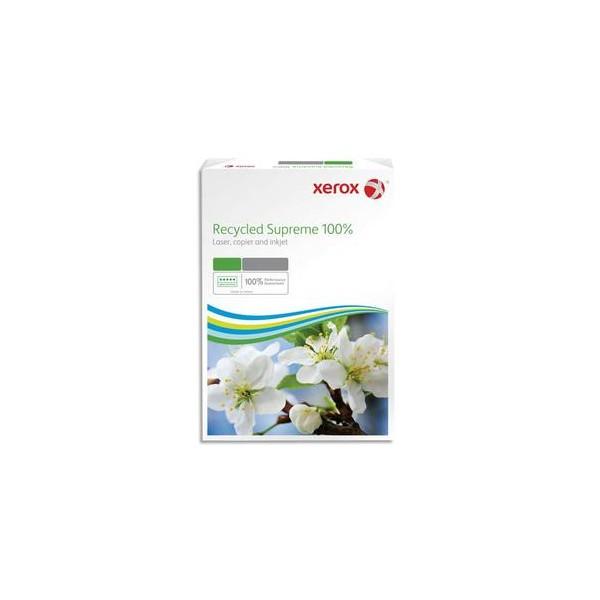 XEROX Ramette de 500 feuilles A4 80g, papier 100% recyclé blanc Recycled Suprême CIE 150 (photo)