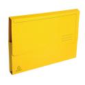 EXACOMPTA Paquet de 50 chemises à poche Forever en carte recyclée 290g, jaune