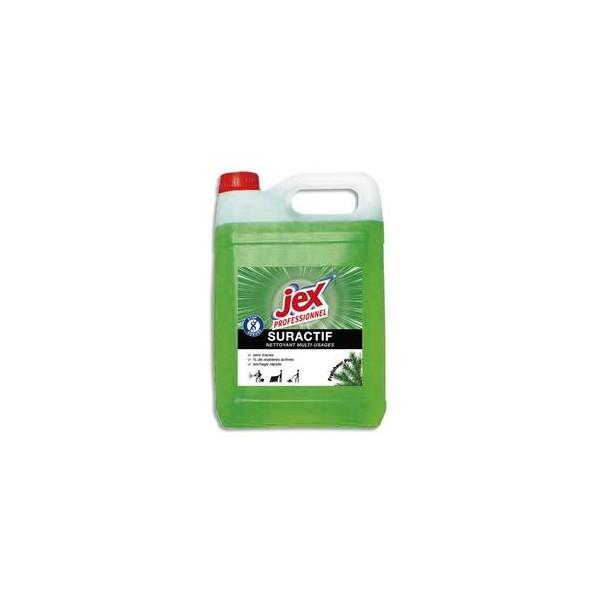 JEX Bidon de nettoyant Suractif, parfum Pin des Landes, 5 litres