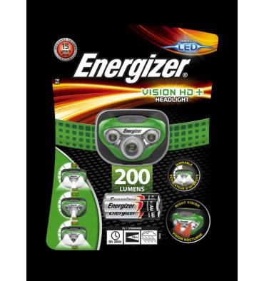 ENERGIZER Lampe frontale vision haute définition+