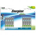 ENERGIZER Blister de 8 piles AAA LR03Eco Advanced
