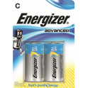 ENERGIZER Blister de 2 piles C LR14 Advanced