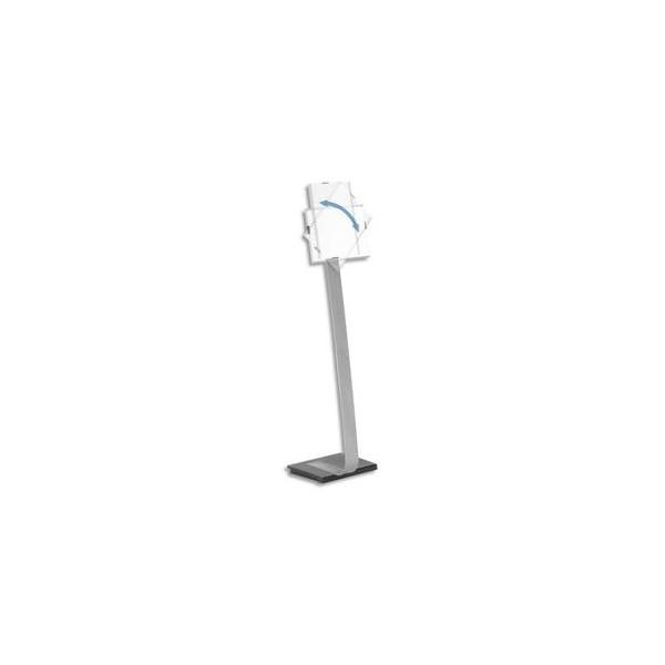 DURABLE Stand Infosign A4 portrait ou paysage sur pied - Hauteur max 118 cm - Argent métallisé