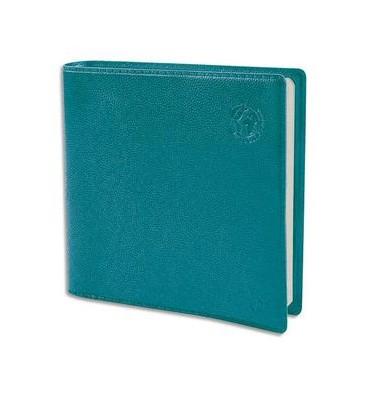 QUO VADIS Semainier Equology Exécutif 1 semaine sur 2 pages 100% recyclé, 16 x 16 cm coloris bleu lagon