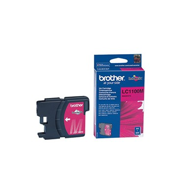 BROTHER Cartouche jet d'encre magenta LC1100M