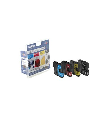 BROTHER Value Pack jet d'encre N/C/M/J LC980VALBP