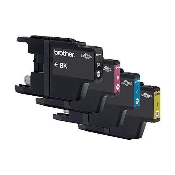 BROTHER Cartouches value pack jet d'encre 4 couleurs MP LC1220VALBP