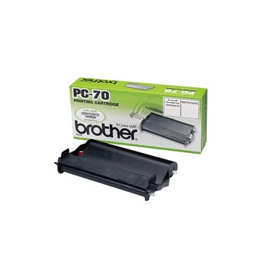 BROTHER Ruban transfert thermique PC70 pour fax T74-76