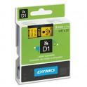 DYMO Ruban D1 Noir / Jaune 9 mm x 7 m - 40918