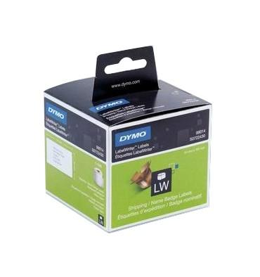 DYMO Rouleau de 220 étiquettes adhésif permanent pour dossier suspendus 50 x12 mm - 99017