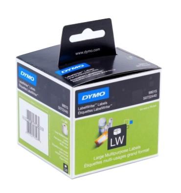 DYMO Rouleau de 320 étiquettes disquettes adhésif permanent 54 x 70 mm - 99015
