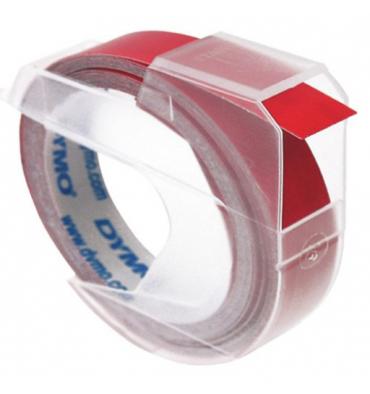 DYMO Ruban pour pince à marquer Blanc / Rouge 9 mm x 3 m - S0898150