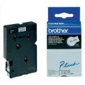 BROTHER Cassette Ruban TC Noir / Blanc 12 mm x 7,7 m - TC201