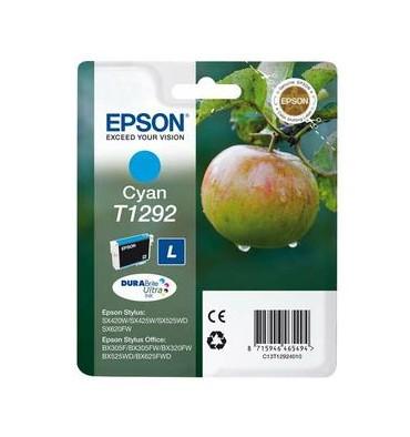 EPSON Cartouche jet d'encre cyan T1292