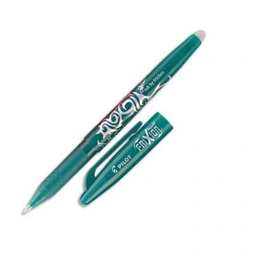 PILOT Stylo à bille encre gel qui s'efface à l'aide de la gomme en bout de stylo FRIXION coloris vert