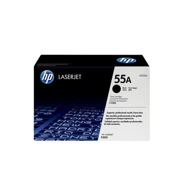 HP Cartouche toner laser noir 55A - CE255A