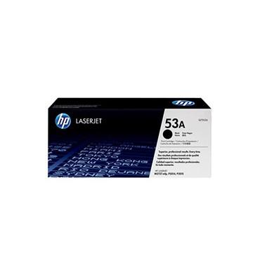 HP Cartouche toner laser noir 53A - Q7553A