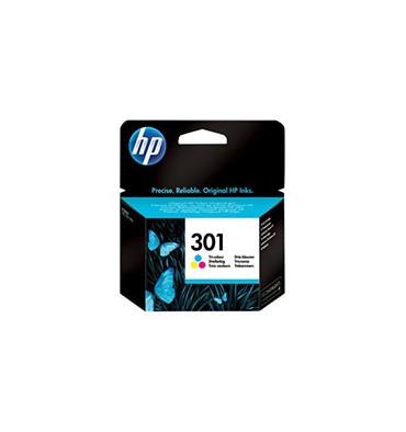 HP Lot de 3 cartouches jet d'encre couleur N°301