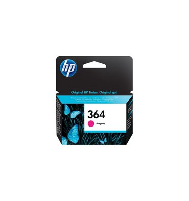 HP Cartouche jet d'encre magenta N°364 CB319EE