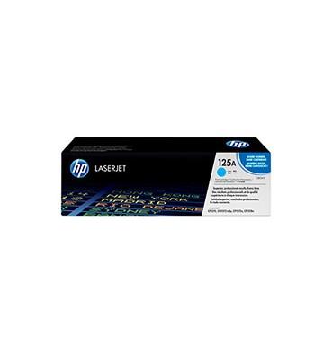 HP Cartouche toner laser cyan 125A - CB541A