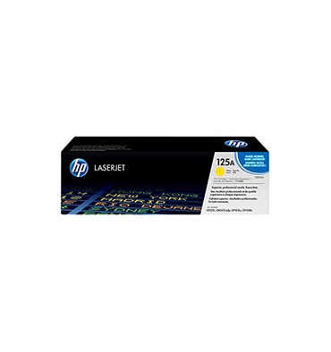 HP Cartouche laser jaune N°125A
