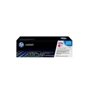 HP Cartouche toner laser magenta 125A - CB543A