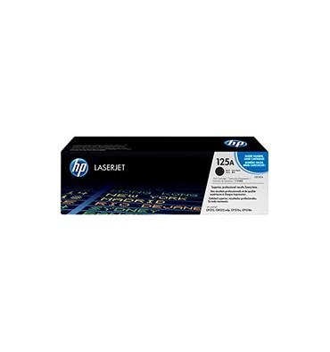 HP Cartouche toner laser noir 125A - CB540A