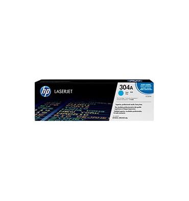 HP Cartouche toner laser cyan 304A - CC531A